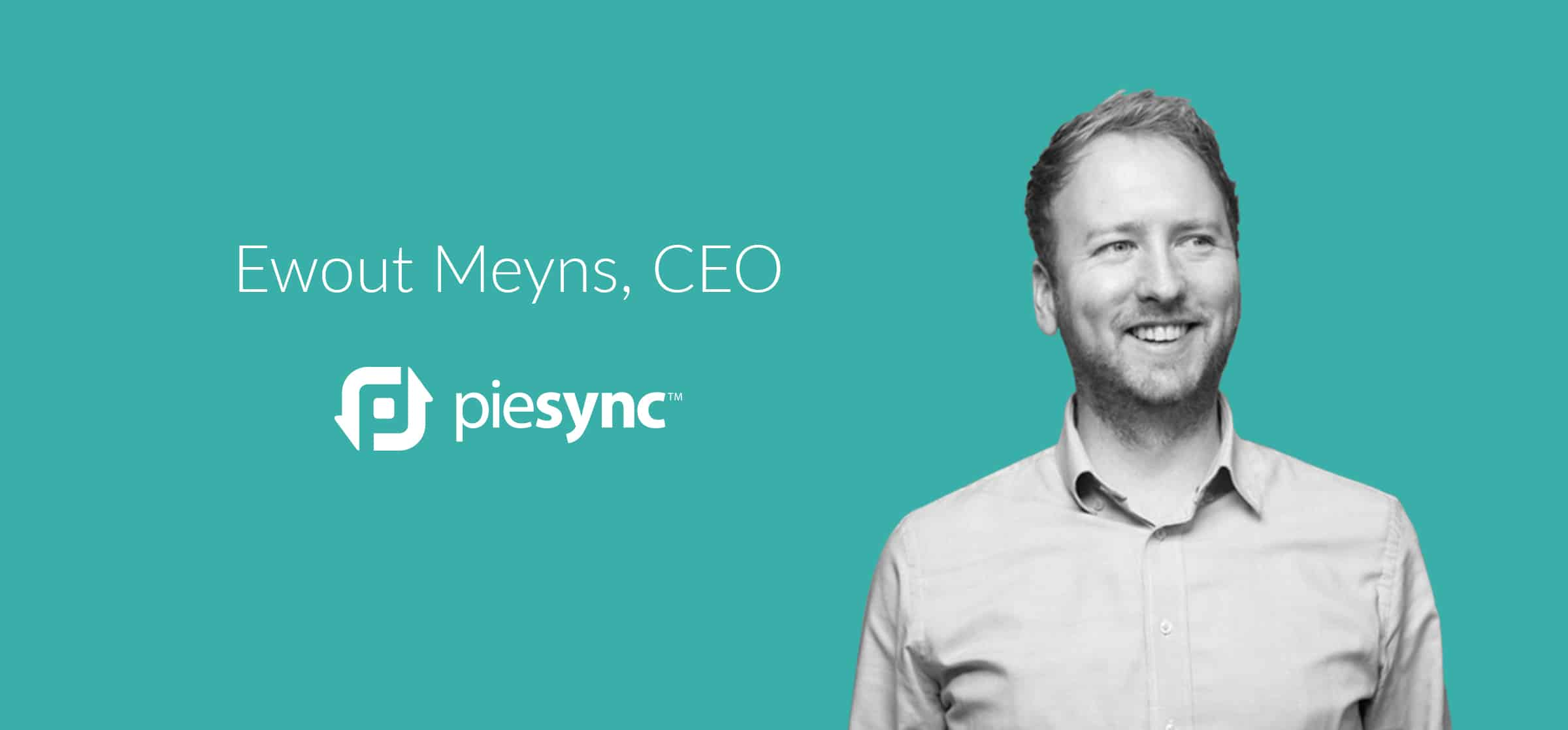 PieSync CEO Ewout Meyns on the future of integration